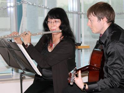 Flute & Acoustic/Electric Guitar
