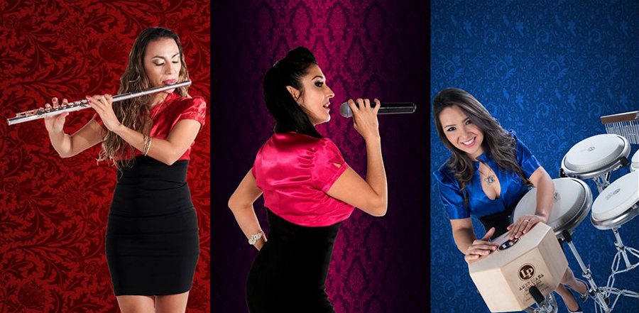 Female Latin Trio Dubai