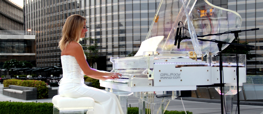 Female Pianist Dubai