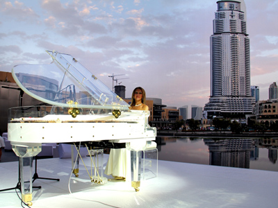 Female Pianist Singer Dubai